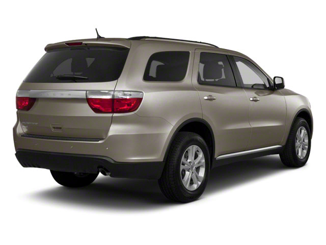 Mineral Gray Metallic 2012 Dodge Durango Pictures Durango Utility 4D Crew AWD photos rear view