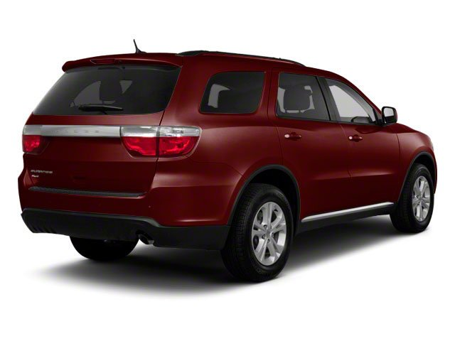 Deep Molten Red Pearl 2012 Dodge Durango Pictures Durango Utility 4D Crew AWD photos rear view