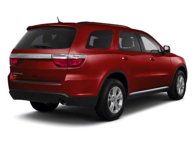 Inferno Red Crystal Pearl Coat 2012 Dodge Durango Pictures Durango Utility 4D Crew AWD photos rear view