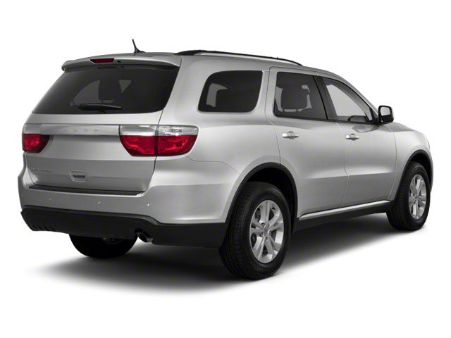 Bright Silver Metallic 2012 Dodge Durango Pictures Durango Utility 4D Crew AWD photos rear view