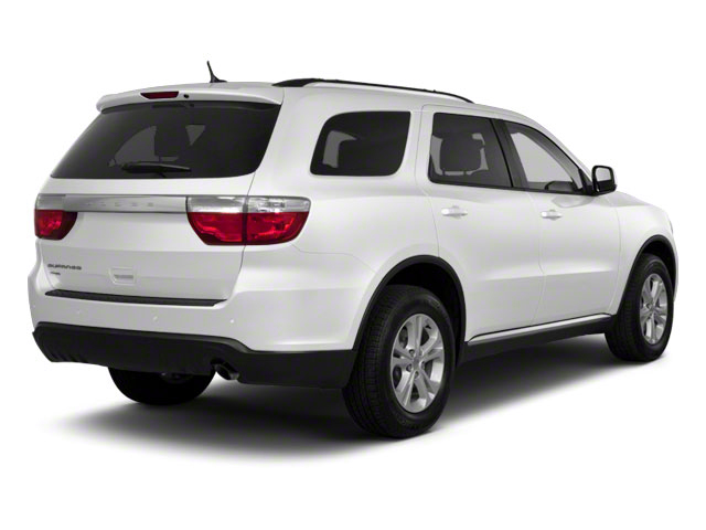 Stone White 2012 Dodge Durango Pictures Durango Utility 4D Crew AWD photos rear view
