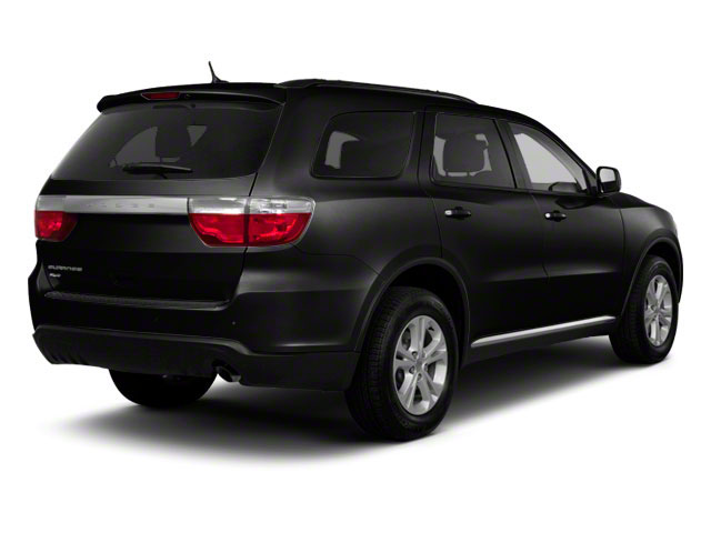 Black Clear Coat 2012 Dodge Durango Pictures Durango Utility 4D Crew AWD photos rear view