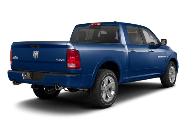 True Blue Pearl 2012 Ram Truck 1500 Pictures 1500 Crew Cab Outdoorsman 2WD photos rear view