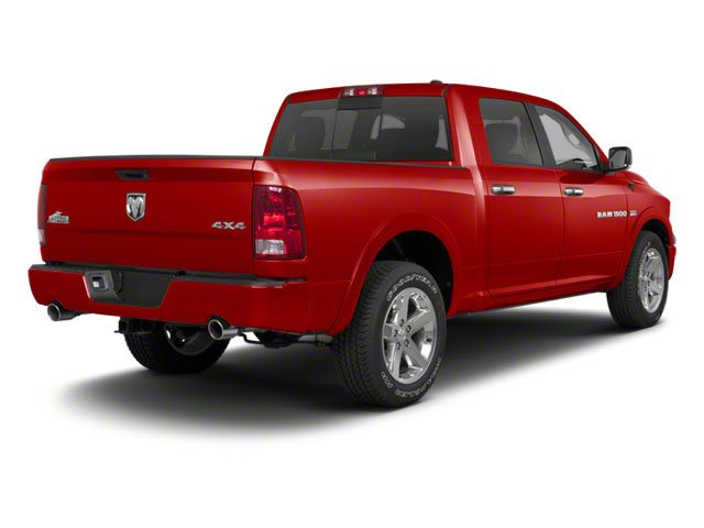 Flame Red 2012 Ram Truck 1500 Pictures 1500 Crew Cab Outdoorsman 4WD photos rear view
