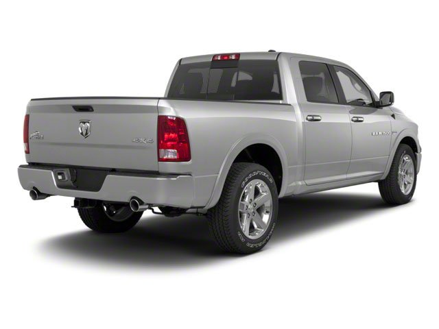 Bright Silver Metallic 2012 Ram Truck 1500 Pictures 1500 Crew Cab Outdoorsman 4WD photos rear view