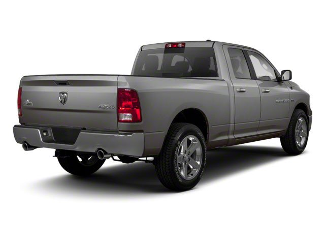 Mineral Gray Metallic 2012 Ram Truck 1500 Pictures 1500 Quad Cab SLT 4WD photos rear view