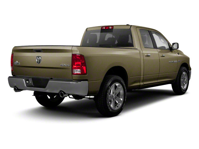 Sagebrush Pearl 2012 Ram Truck 1500 Pictures 1500 Quad Cab SLT 4WD photos rear view