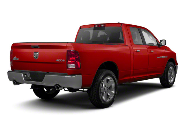 Flame Red 2012 Ram Truck 1500 Pictures 1500 Quad Cab SLT 4WD photos rear view