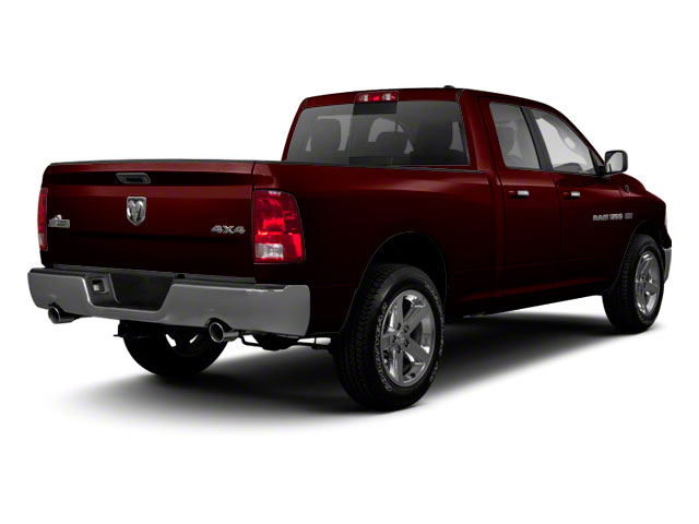 Deep Molten Red Pearl 2012 Ram Truck 1500 Pictures 1500 Quad Cab SLT 4WD photos rear view
