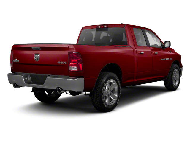 Deep Cherry Red Crystal Pearl 2012 Ram Truck 1500 Pictures 1500 Quad Cab SLT 4WD photos rear view
