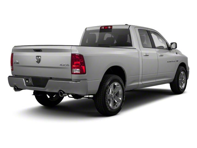 Bright Silver Metallic 2012 Ram Truck 1500 Pictures 1500 Quad Cab SLT 4WD photos rear view
