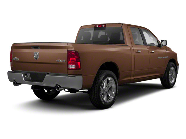 Saddle Brown Pearl 2012 Ram Truck 1500 Pictures 1500 Quad Cab SLT 4WD photos rear view