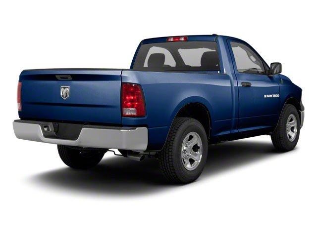 True Blue Pearl 2012 Ram Truck 1500 Pictures 1500 Regular Cab SLT 2WD photos rear view