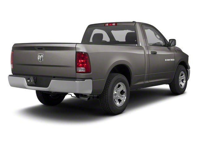 Mineral Gray Metallic 2012 Ram Truck 1500 Pictures 1500 Regular Cab SLT 2WD photos rear view