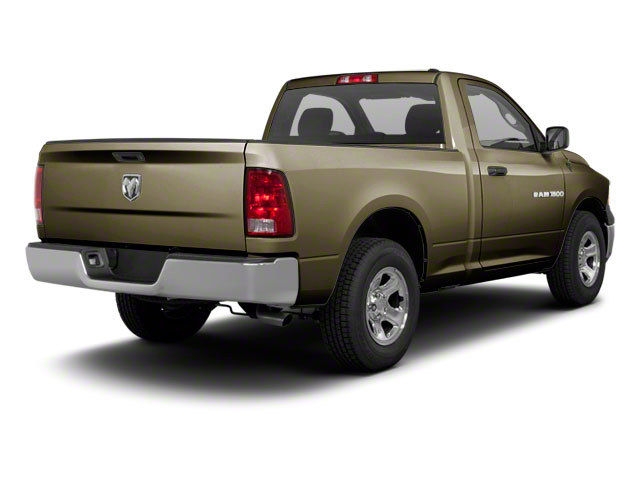 Sagebrush Pearl 2012 Ram Truck 1500 Pictures 1500 Regular Cab SLT 2WD photos rear view