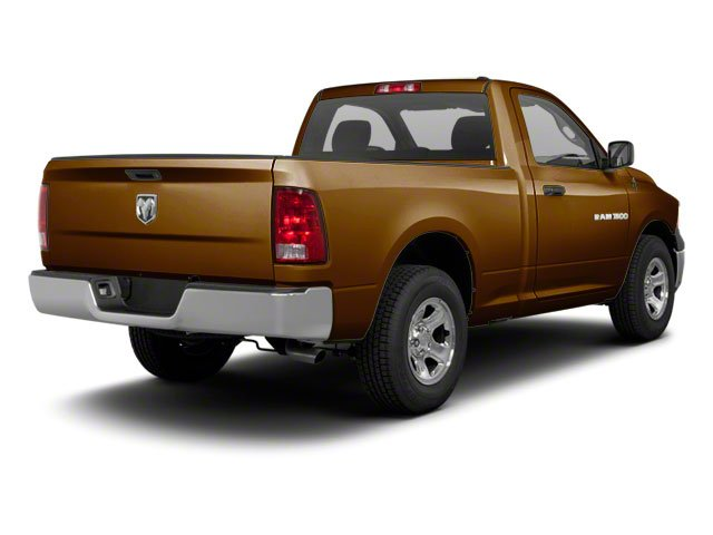 Tequila Sunrise Pearl 2012 Ram Truck 1500 Pictures 1500 Regular Cab Tradesman 4WD photos rear view