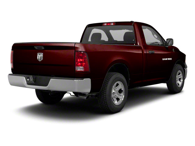 Deep Molten Red Pearl 2012 Ram Truck 1500 Pictures 1500 Regular Cab SLT 2WD photos rear view
