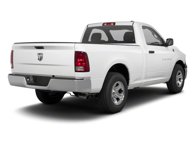 Bright White 2012 Ram Truck 1500 Pictures 1500 Regular Cab SLT 2WD photos rear view