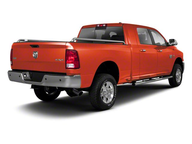 Omaha Orange 2012 Ram Truck 2500 Pictures 2500 Mega Cab SLT 4WD photos rear view