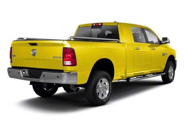 Yellow 2012 Ram Truck 2500 Pictures 2500 Mega Cab SLT 4WD photos rear view