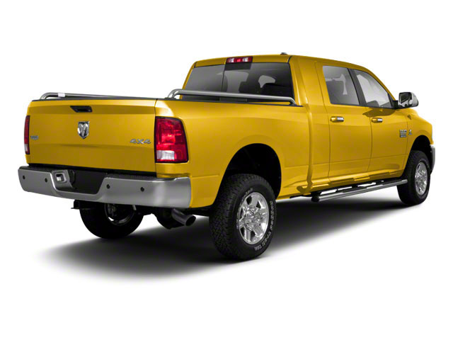 Case Construction Yellow 2012 Ram Truck 2500 Pictures 2500 Mega Cab SLT 4WD photos rear view