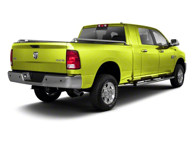 National Fire Safety Lime Yellow 2012 Ram Truck 2500 Pictures 2500 Mega Cab SLT 4WD photos rear view