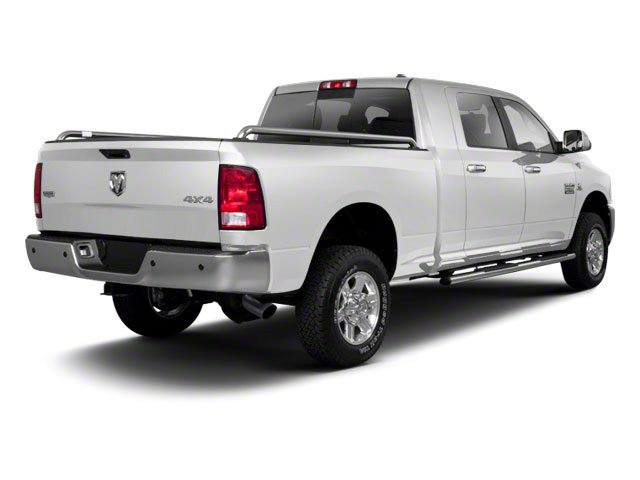 Bright White 2012 Ram Truck 2500 Pictures 2500 Mega Cab Outdoorsman 4WD photos rear view