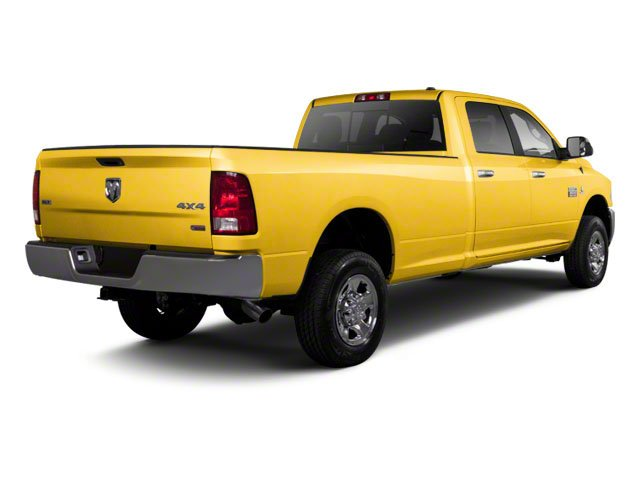 Case Construction Yellow 2012 Ram Truck 2500 Pictures 2500 Crew Cab ST 4WD photos rear view