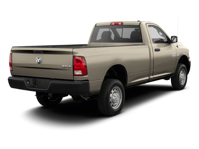 Light Cream 2012 Ram Truck 2500 Pictures 2500 Regular Cab SLT 4WD photos rear view