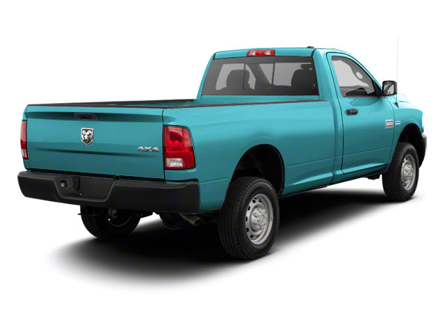 Robin Egg Blue 2012 Ram Truck 2500 Pictures 2500 Regular Cab SLT 4WD photos rear view