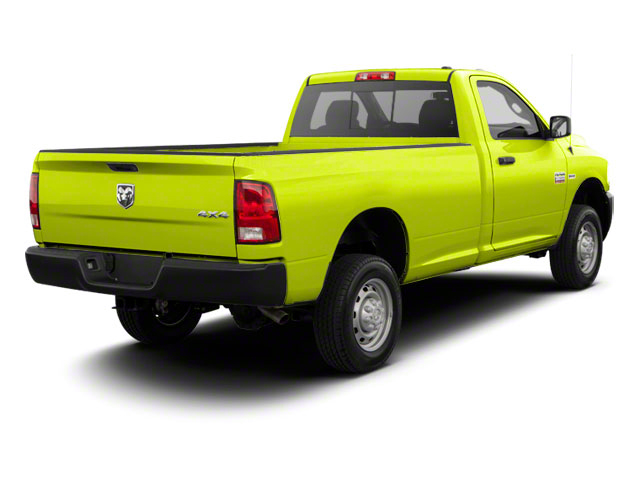 National Fire Safety Lime Yellow 2012 Ram Truck 2500 Pictures 2500 Regular Cab SLT 4WD photos rear view