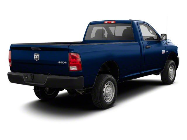 True Blue Pearl 2012 Ram Truck 2500 Pictures 2500 Regular Cab Outdoorsman 4WD photos rear view