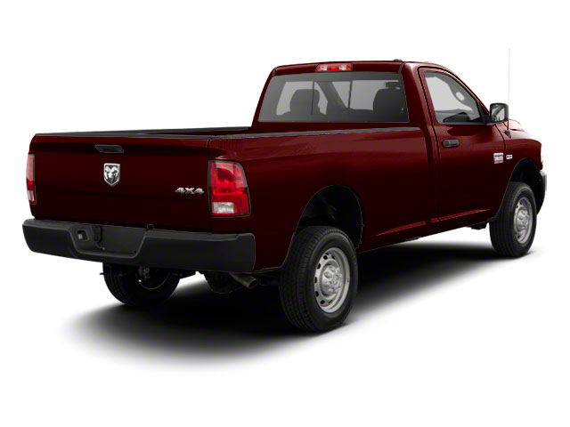 Deep Molten Red Pearl 2012 Ram Truck 2500 Pictures 2500 Regular Cab SLT 4WD photos rear view