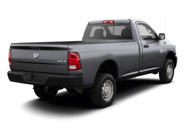 Bright Silver Metallic 2012 Ram Truck 2500 Pictures 2500 Regular Cab Outdoorsman 4WD photos rear view