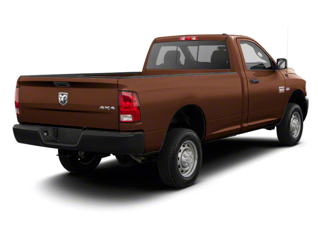 Saddle Brown Pearl 2012 Ram Truck 2500 Pictures 2500 Regular Cab SLT 4WD photos rear view