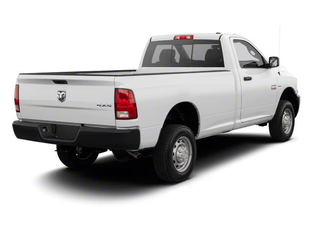 Bright White 2012 Ram Truck 2500 Pictures 2500 Regular Cab Outdoorsman 4WD photos rear view