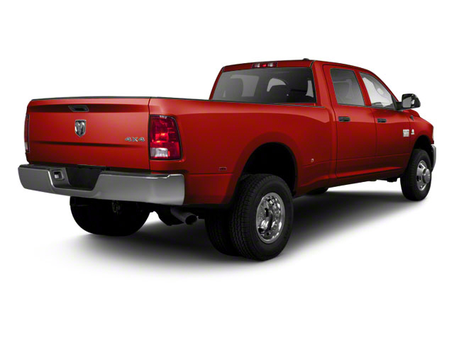 Bright Red 2012 Ram Truck 3500 Pictures 3500 Crew Cab SLT 2WD photos rear view
