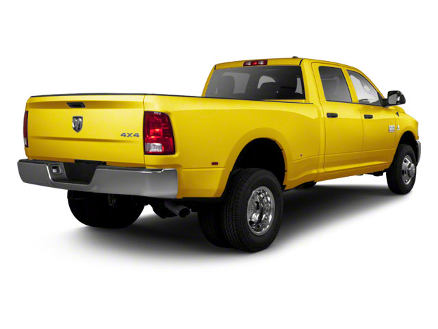 Yellow 2012 Ram Truck 3500 Pictures 3500 Crew Cab SLT 2WD photos rear view