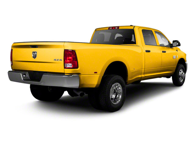 Case Construction Yellow 2012 Ram Truck 3500 Pictures 3500 Crew Cab SLT 2WD photos rear view