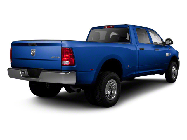 New Holland Blue 2012 Ram Truck 3500 Pictures 3500 Crew Cab SLT 2WD photos rear view