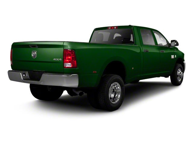 DT Green 2012 Ram Truck 3500 Pictures 3500 Crew Cab SLT 2WD photos rear view