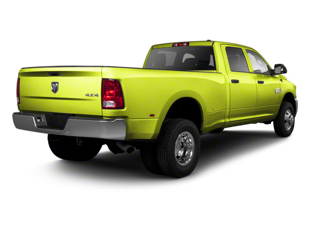 National Fire Safety Lime Yellow 2012 Ram Truck 3500 Pictures 3500 Crew Cab SLT 2WD photos rear view