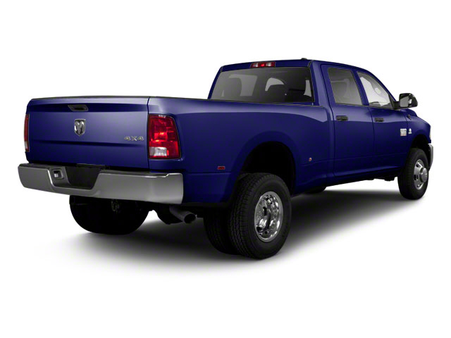 Midnight Blue Pearl 2012 Ram Truck 3500 Pictures 3500 Crew Cab SLT 2WD photos rear view