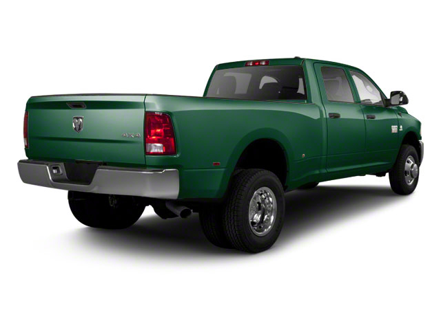 Timberline Green Pearl 2012 Ram Truck 3500 Pictures 3500 Crew Cab SLT 2WD photos rear view