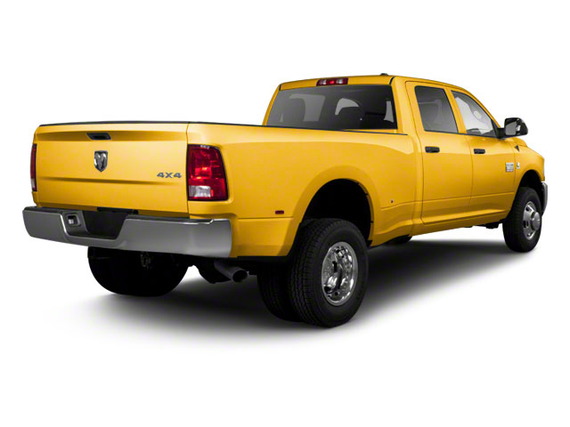 School Bus Yellow 2012 Ram Truck 3500 Pictures 3500 Crew Cab SLT 2WD photos rear view
