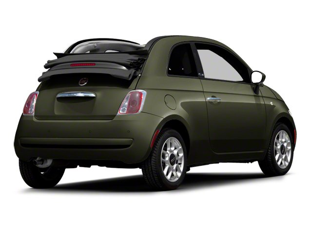 Verde Oliva (Olive Green) 2012 FIAT 500 Pictures 500 Convertible 2D Lounge photos rear view