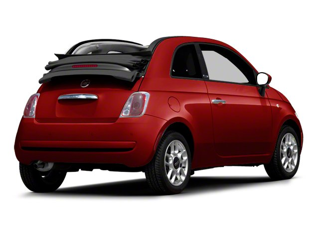 Rosso (Red) 2012 FIAT 500 Pictures 500 Convertible 2D Lounge photos rear view