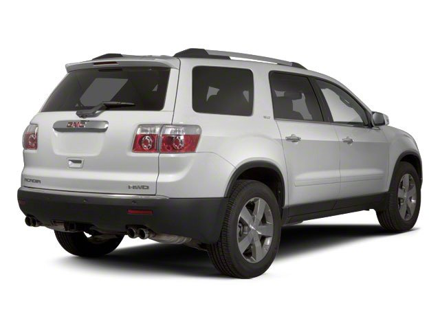 Quicksilver Metallic 2012 GMC Acadia Pictures Acadia Wagon 4D SLE AWD photos rear view