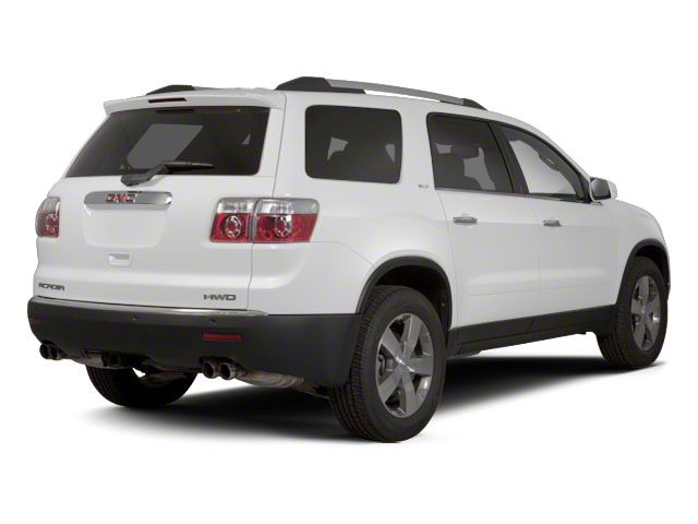Summit White 2012 GMC Acadia Pictures Acadia Wagon 4D SLE AWD photos rear view