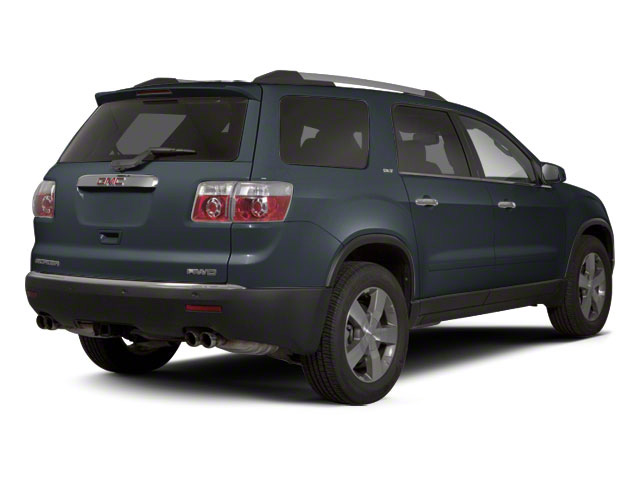 Cyber Gray Metallic 2012 GMC Acadia Pictures Acadia Wagon 4D SLE AWD photos rear view